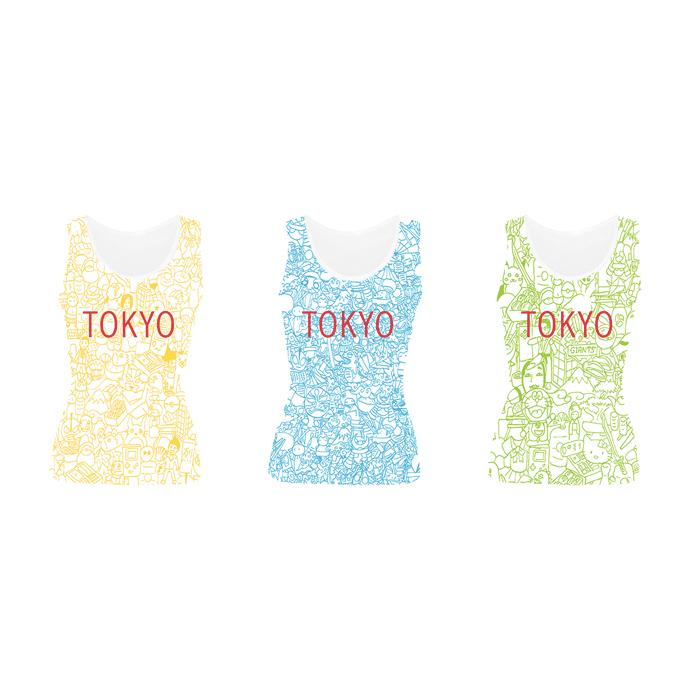 Tokyo - Tank Tops - Catherine San Juan